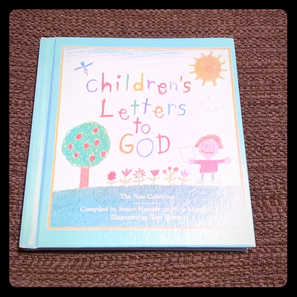 Children's Letters to God hardback book